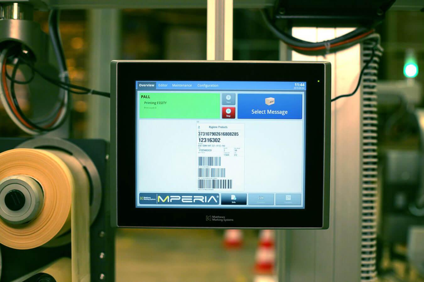 Universalcontroller für Kennzeichnungssysteme: MPERIA